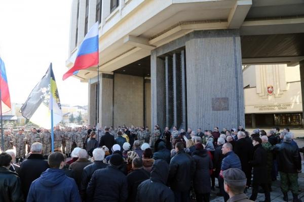 В Симферополе почтили память крымчан, погибших в феврале 2014 года в результате столкновений у стен республиканского парламента