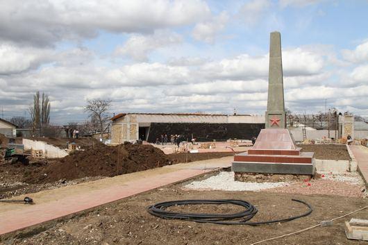 Мемориальный комплекс на территории совхоза «Красный» откроют ко Дню Победы (ФОТО), фото-1